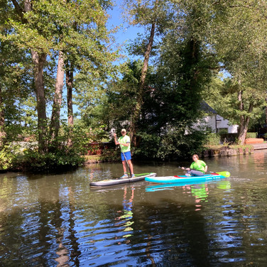 """""""Epic amount of fun for a hot Friday. Me and my daughter spent 2 hours with Angela learning the drills on the canal. We learnt so much and the teacher was just great and would recommend it to everyone."""" - Henrik G"""
