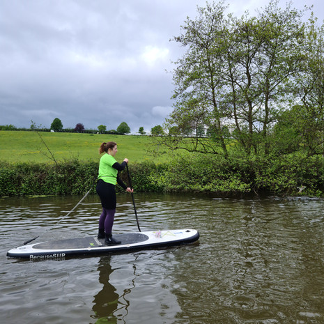 """""""Fab day learning the basics, Helen is very knowledgeable and patient! Lots of time on the water to enjoy it."""" - Helena B"""