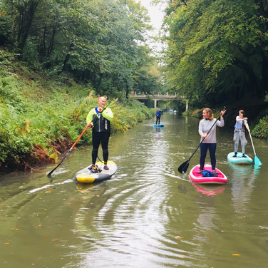 """Angela led us on our first social paddle this morning. Although we were using an inflatable kayak which got a puncture on the way back, we still had a great time. A fantastic morning out with lovely people. We've now bought paddle boards..."" - Kirsty P"