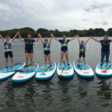 """Angela is an amazing teacher! I was quite nervous but very soon we were actually standing and paddling! I loved the games. I would highly recommend Angela especially to teach you the basics."" - Bronwyn H"