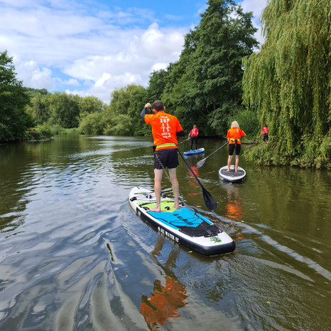 """""""What a fantastic introduction into SUP, I thoroughly enjoyed Helen's relaxed yet professional approach to teaching , a perfect balance between sharing knowledge and practical application."""" - Rob N"""