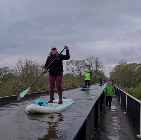 """""""Helen is brilliant. Skills and drills puts you through your paces! SUP water polo, great fun. Topped off by organising amazing trips. Just had the best weekend in Stratford & Warwick...Thank you Helen for all your patience."""" - Sandi D"""