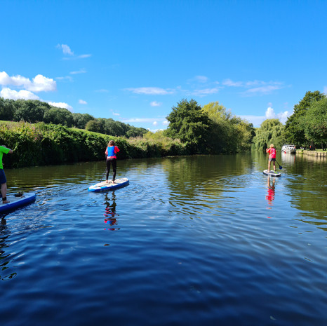 """""""I was so nervous about doing SUP but always wanted to try it and had a great time! Helen is a lovely instructor, who took her time with everyone, to make sure they understood different techniques being taught. Highly recommended!"""" - Rebecca L"""