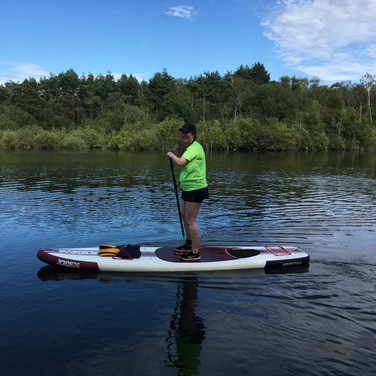 """Angela is a brilliant teacher, I just had so much fun - lovely to paddle and chat and learn some new skills. Can't wait to have another go! Thank you."" - Hannah M"