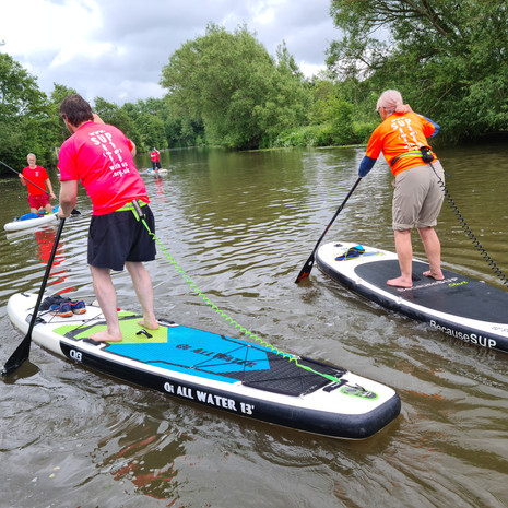 """""""Wow had my first ever paddle boarding lesson today with Helen, she is an amazing teacher and I highly recommend to anyone who wants to try paddle boarding. Thanks Helen I think I'm addicted :)"""" - Andy Mcd"""