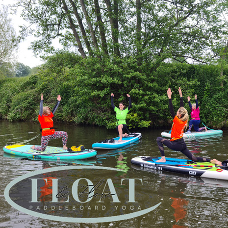 SUP Yoga with Float and Flow