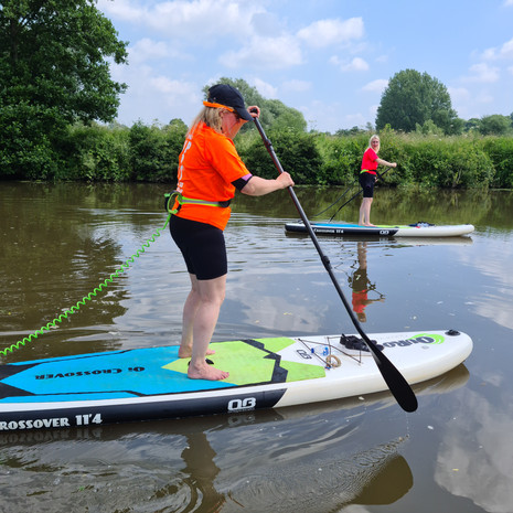 """""""Loved my lesson with Helen in July. Took my adult daughter too....we're now booked on a social paddle too. Lots of information given and advice. Great exercise and beautiful surroundings. Would definitely recommend Helen."""" - Nicki L"""