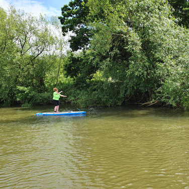 """A fantastic 2 hours learning to paddleboard, Helen was so lovely and patient, we are all hooked - thank you!"" - Sam B"