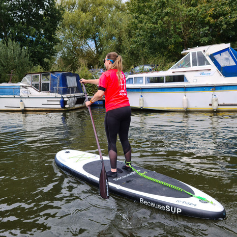 """""""Fabulous introduction to paddle boarding. Thank you."""" - Kate H"""