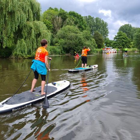 """""""Helen is so confidence giving, relaxed, helpful, supportive and informative. She responded to question pre-booking, during SUP session and post follow up quickly and in a friendly manner. I really enjoyed the intro session and would thoroughly recommend booking with her. The location is easy to get to and park at too. Just try it... ;)"""" - Nancy A"""