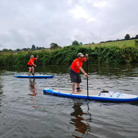 """""""We met Helen while she was out on the water and we were dog walking along the river, it looked so tranquil. She shouted the name of her company across to us so we tracked her down on Facebook - sooo glad we did! Just had our first SUP lesson, what a hoot! Helen was super friendly, very reassuring, patient and very encouraging! Had a couple of hours on the Medway with her and she taught us all the basics! If you want to try SUPing for the first time and unsure how to go about it - SUP with us and Helen is the best place to start...you won't regret it!!"""" - Clair M"""