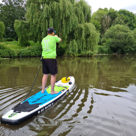 """""""Booked a last min slot on a group lesson at Teston, had a great time. Everything you need is supplied and I recommend SUP with us to anyone who fancies giving it a go."""" - Richard G"""