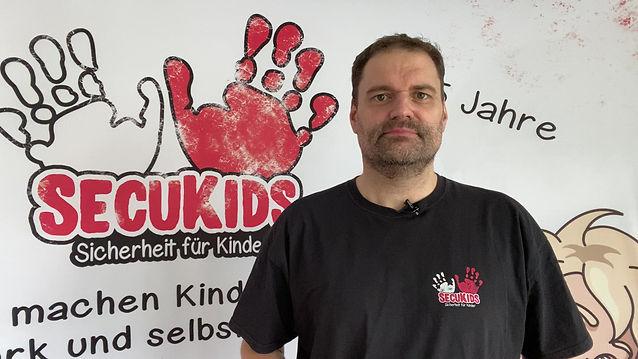 SecuKids Gründer Olivr Becker