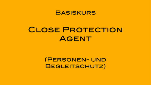 Close Protection Agent