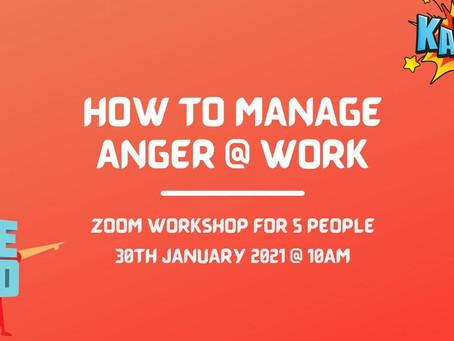 Manage Anger @ Work Seminar