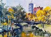 Charles River Espanade II in Boston by Diane Bell