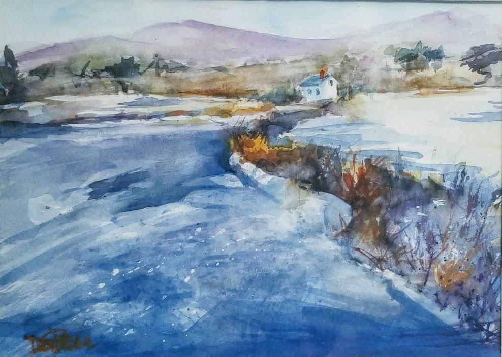 Frozen West River
