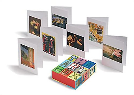 The Art Box Greeting Cards - Red Selection Cards