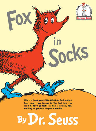 Fox in Sox by Dr. Seuss - Hardcover
