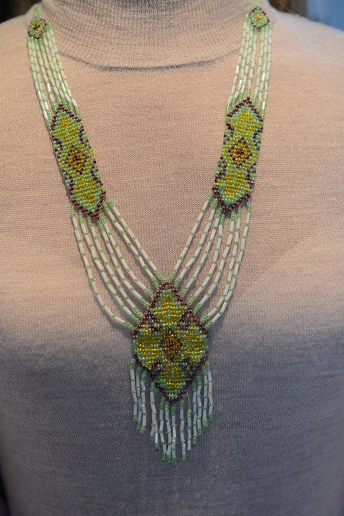 Handmade Beaded Necklace , Ukrainian Gerdan