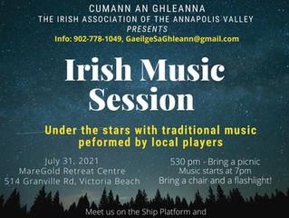 Irish Music at the Ship platform