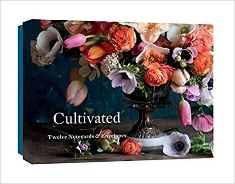 Cultivated: 12 Notecards and Envelopes Cards