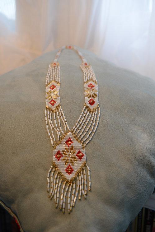 Handmade Necklace with Beads - Fro Carpathian Mountains