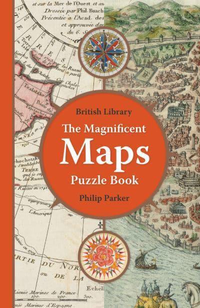 THE MAGNIFICENT MAPS PUZZLE BOOK: PUZZLE QUIZ BOOK