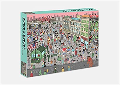 Where's Bowie?: David Bowie in Berlin 500 Piece Jigsaw Puzzle
