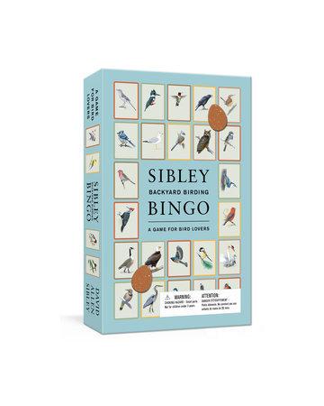 Sibley Backyard Birding Bingo A GAME FOR BIRD LOVERS: BOARD GAMES