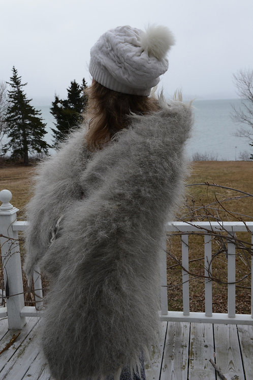 Lizhnyk -100% Wool Banket (small) solid grey