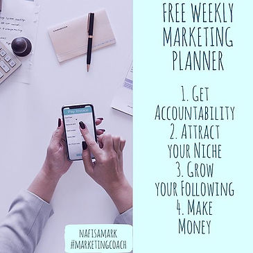 🤑❤️✅FREE - Business MARKETING PLANNER_.