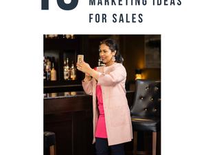 10 Social Media Content Marketing ideas for Sales