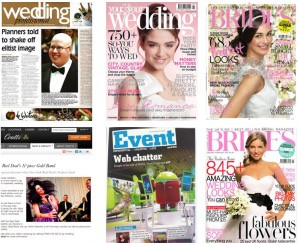 How to get featured in Brides Magazine