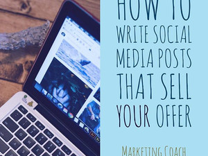 How to write social media posts that sell