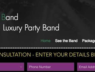 FREE WEDDING MUSIC CONSULTATION from Luxury wedding party band London