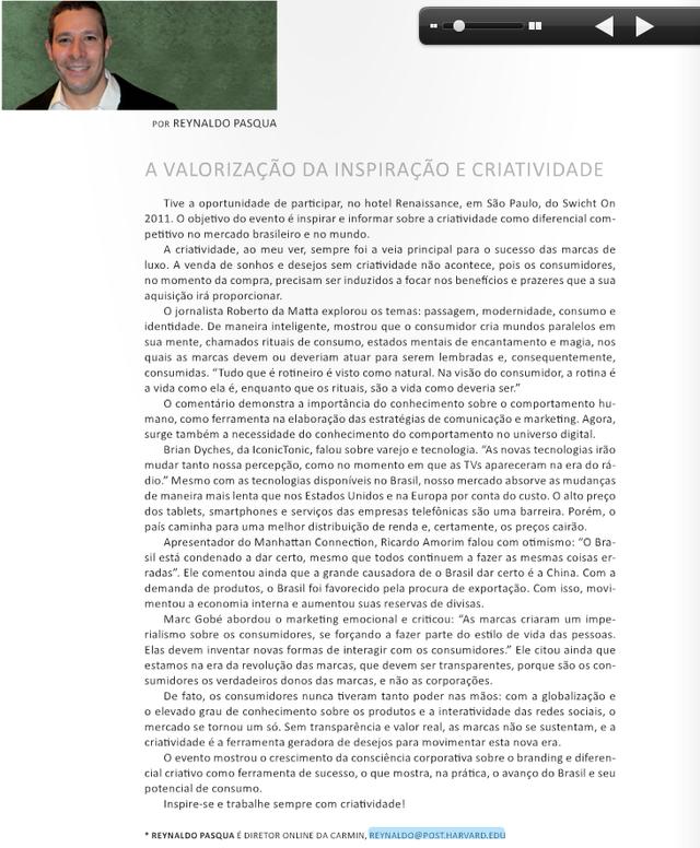 A Magazine - Junho 2011