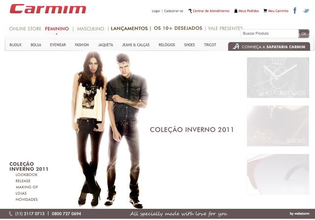CARMIM Flagship Store Virtual - Inverno 2011