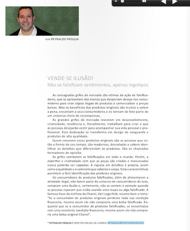 A Magazine - Maio 2011 - VENDE-SE ILUSÃO!