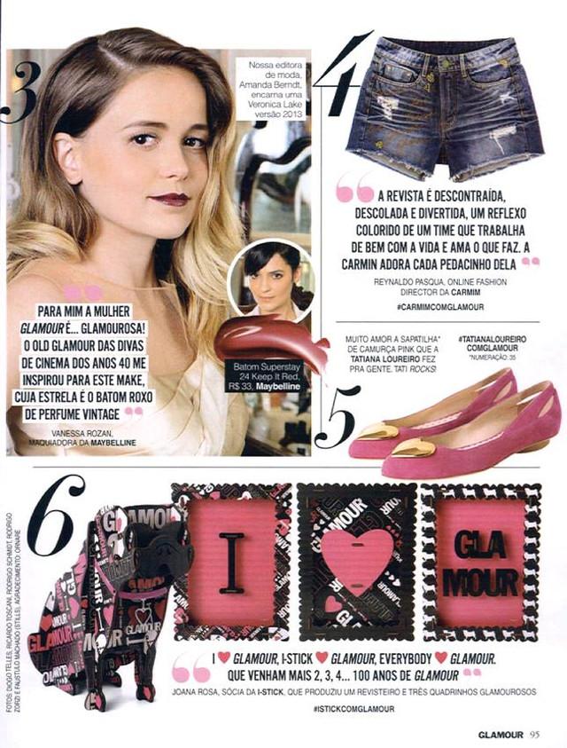 Revista Glamour - Março 2013