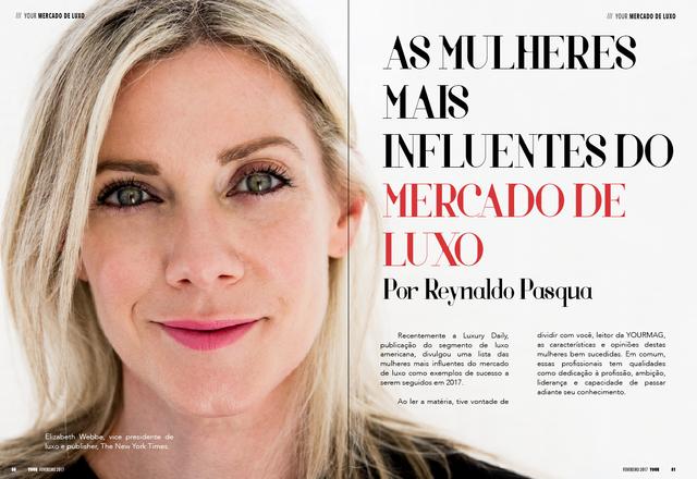 Yourmag | As mulheres mais influentes do Mercado de Luxo