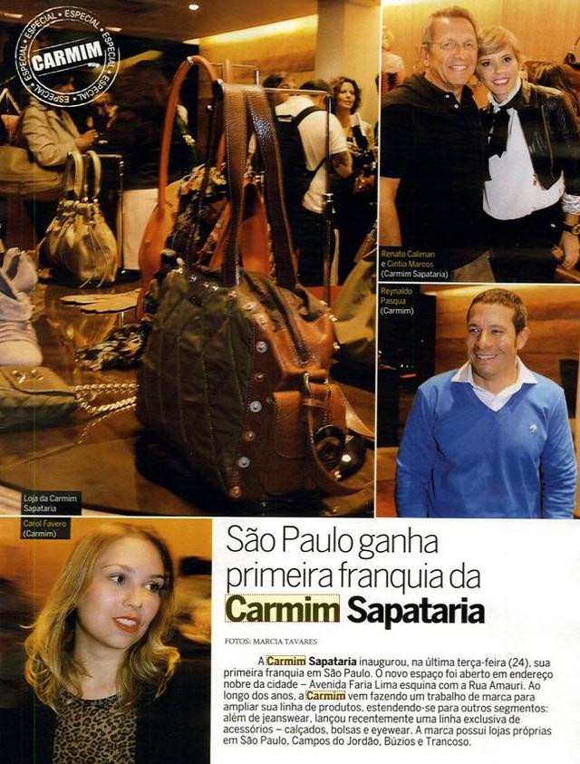 Lançamento da Franquia - Sapataria CARMIM
