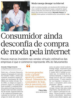 Entrevista para o Jornal Brasil Econômico - 17/01/2011