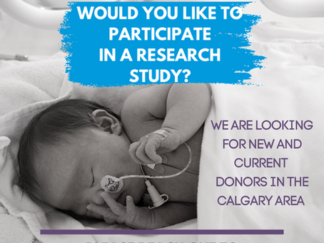 Help us in our new Research Study