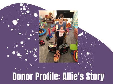 Donor Profile: Allie