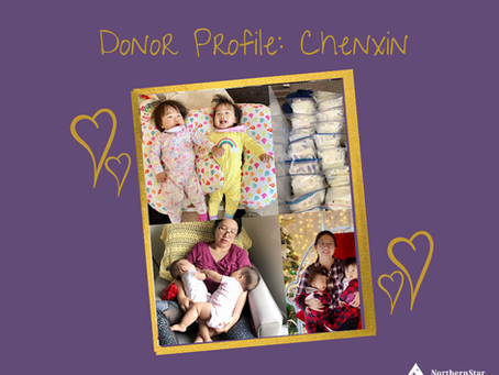 Donor Profile: Chenxin's Story