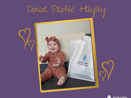 Donor profile: Hayley's story