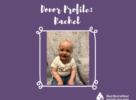 Donor Profile: Rachel's story