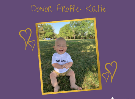 Donor profile: Katie's story