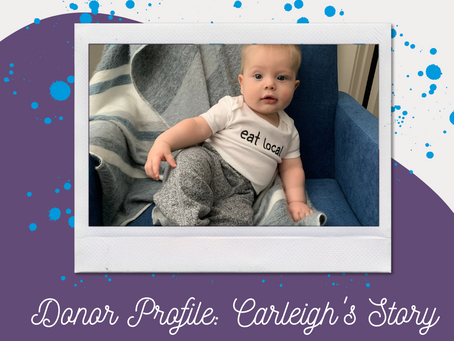 Donor Profile: Carleigh's Story